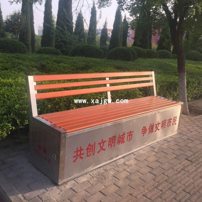 不锈钢保洁工具箱座椅