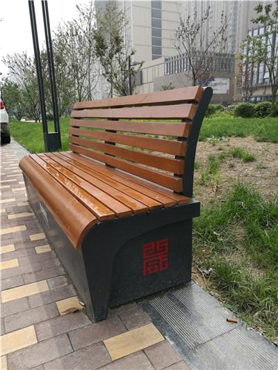 西咸新区沣东新城市政环卫保洁员工具箱靠背椅