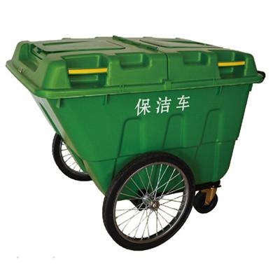 西安400升环卫挂车保洁车垃圾桶