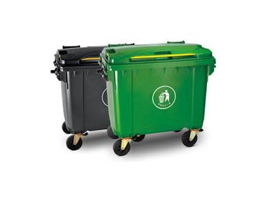 西安660升大型塑料垃圾桶