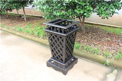 西安别墅区铸铝垃圾箱