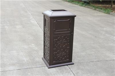 重庆铸铝分类垃圾箱