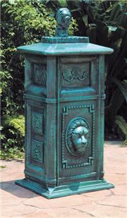 郑州洛阳铸铝垃圾桶