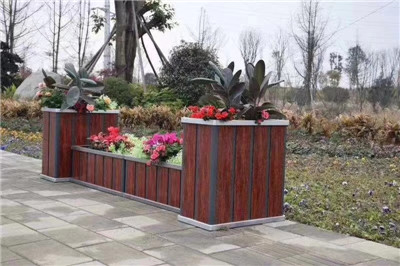 鄂尔多斯竖版铝塑花箱