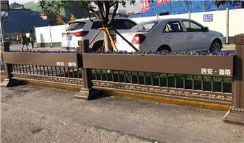 平凉不锈钢护栏花箱连体组合