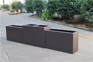 郑州木纹铝合金花箱